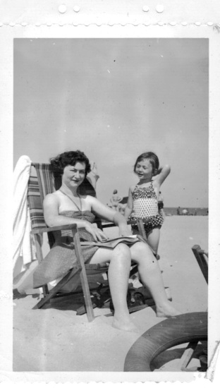 Mom and Me at the Beach