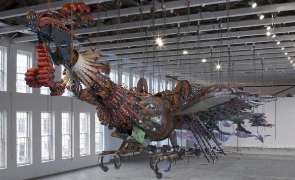Xu Bing Phoenx : Art Evans: Globe