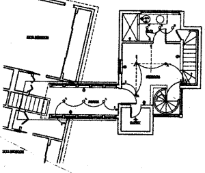 plan showing stairs