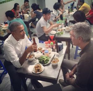 Bourdain takes Obama to dinner in Hanoi - $6